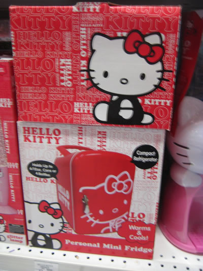 hello kitty mni fridge