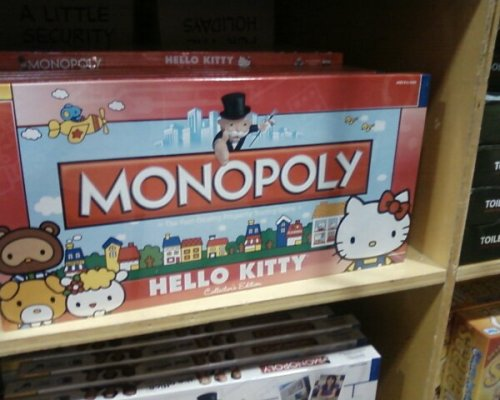 hello kitty monopoly game