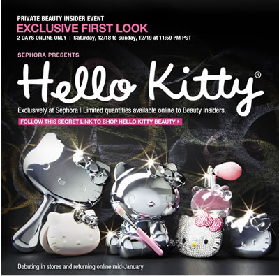 hello kitty at sephora