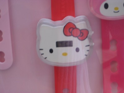 hello kitty watch at macdonald's