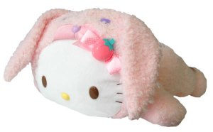 hello kitty bunny pillow