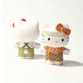hello kitty blindbox figures from urbanoutfitters.com