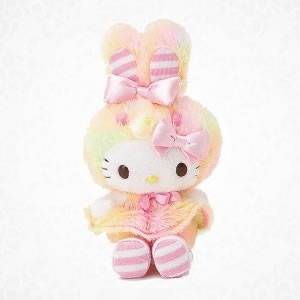 hello kitty bunny cotton candy mishap