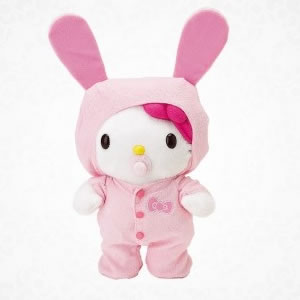 hello kitty bunny super cuddley baby