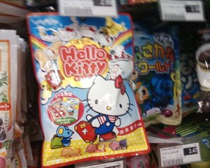 hello kitty snack food
