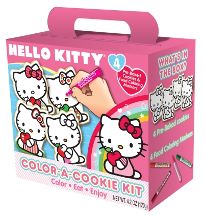 Hello Kitty Color-A-Cookie Kit