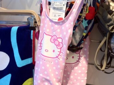 hello kitty zara swimsuit