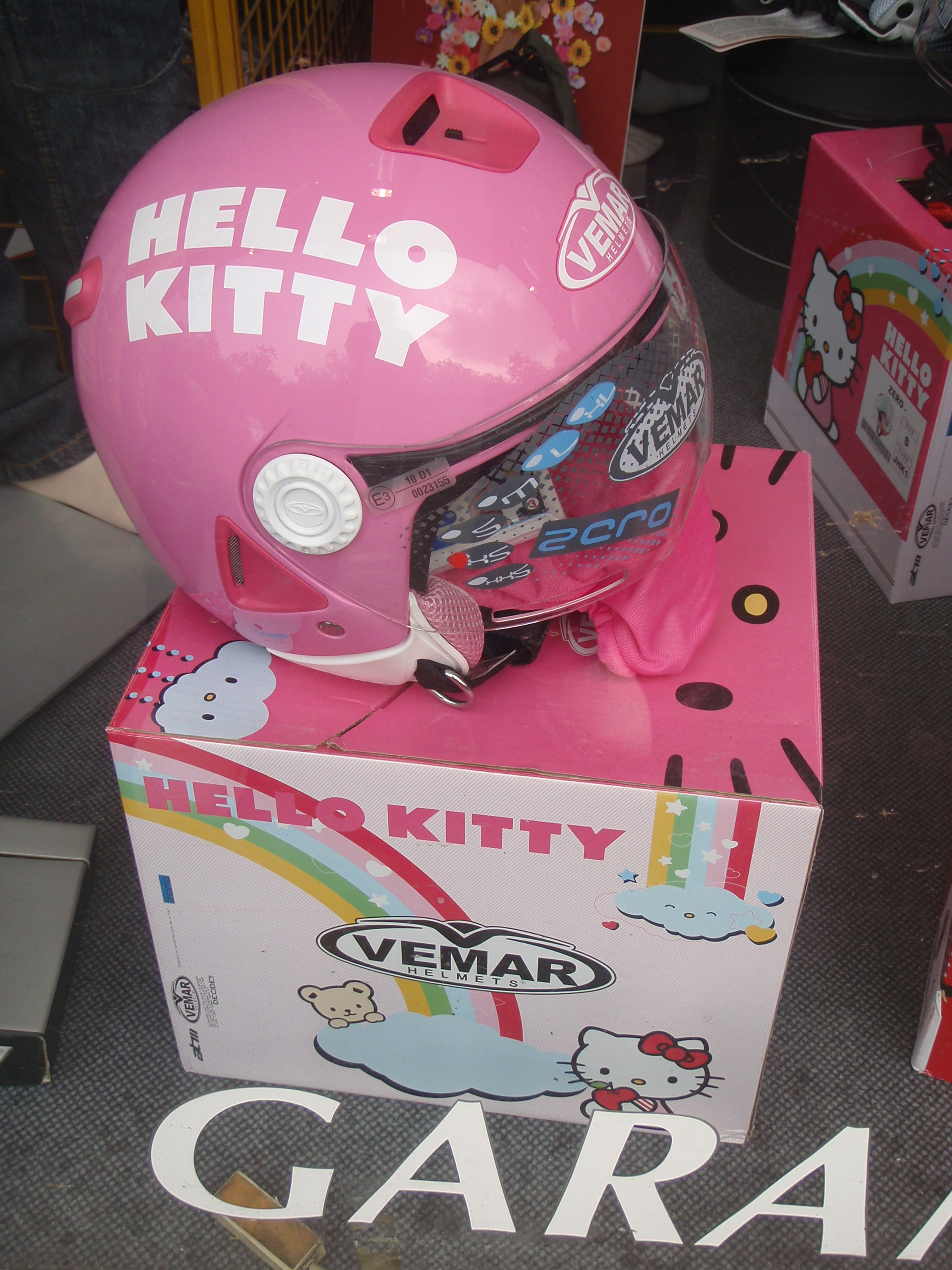 Hello Kitty Scooter Helmet Hello Kitty Helmet Pink