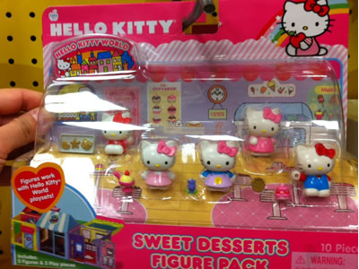hello kitty toy - sweet desserts
