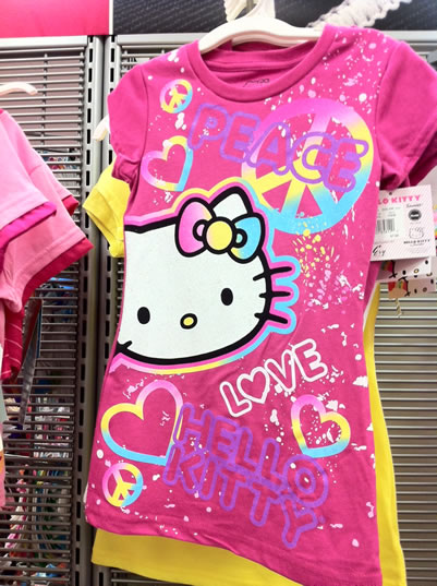 hello kitty shirt - love