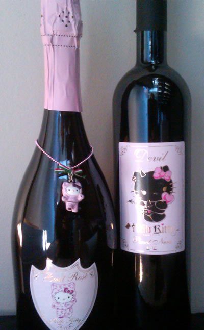 hello kitty wines