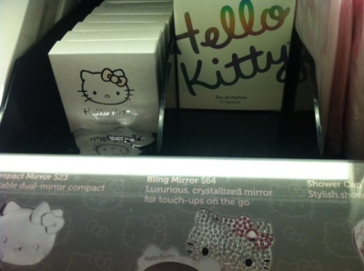 hello kitty at sephora - make-up