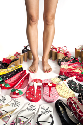 hello kitty twenty10 sandals