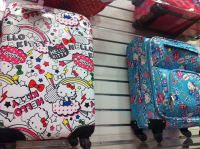 hello kitty luggage