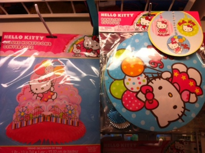 hello kitty birthday party decorations